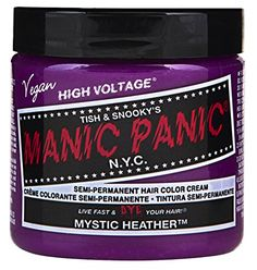 Manic Panic SemiPermament Haircolor Mystic Heather 4oz 6 Pack ** Click on the affiliate link Amazon.com on image for additional details.