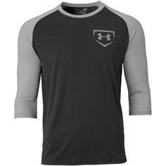 Image for Under Armour Mens 3/4 Sleeve Baseball T-Shirt from Baseball Equipment & Gear