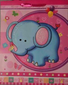 Elephant gift bag