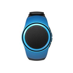 Smart Wearable Bluetooth Stereo B20 Hands-Free Calls Insert TF Card Speaker Watch Timer Bluetooth Speakers(Blue). √ Overview: 1. Wireless connection, Bluetooth transmission, completely out of the line of bondage. 2. Has powerful play function like TF card, computer speaker. 3. Stereo, fully feeling of listen, bass sound is excellent. 4. Fashion, perfect match with mobile. 5. Save the power when the device is playing. 6. Selfie Remote Control Shutter. 7. Cellphone Anti-lost. 8. FM Radio...