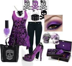 Purple Style I think that heel is to high for me.