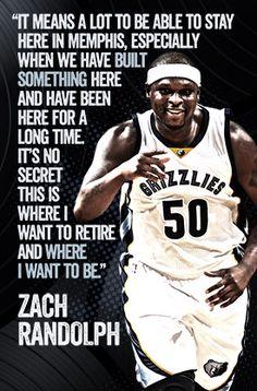 Zach Randolph quote  ZBo!!!