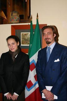 Aimone e Olga di Savoia, principi ereditari