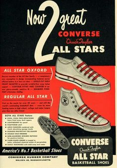 Converse all star. And still going......