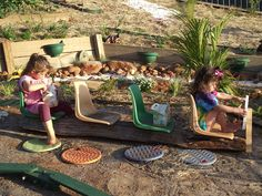 Our Play Space: A Backyard Bus {from Childhood101} @Christie Burnett @Childhood101