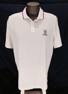Men's Polo Ralph Lauren RLX TPC PGA Deer Creek Golf Shirt White Large L #RLXRalphLauren #PoloRugby