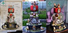 SCHETCH for snow white - Cake by Crin sugarart