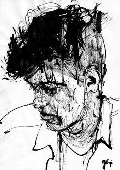 Sketches by Jakub Czyż, via Behance