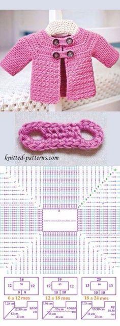 buzos tejidos a crochet patrones