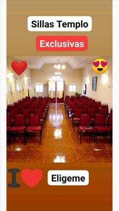 💗Atención Iglesias! y Templos 💗  Tu Diseño Exclusivo para vestir el Templo👈  +569-65420522 / +569-72582550  #iglesias #casino #evento #hogar #templo #sillas #muebles #fabrica Iglesias, State, Amazing, Temples, Classroom Furniture, Chairs, Furniture, Home
