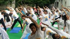 """""""Yoga is an invaluable gift of ancient Indian Tradition. It embodies unity of mind and body; thought and action; restraint and fulfillment; harmony between man and nature and a holistic approach to health and well-being. """" #IITM #Janakpuri celebrates international day of Yoga on June 21st, 2017."""
