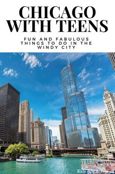Chicago is a place teens will love to explore. Here are some of our favorite things to do in Chicago for your next trip. - Kids Are A Trip #chicago #illinois #withteens #chicagothingstodoin #chicagofood