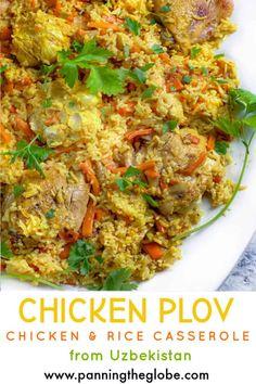 Best Chicken Recipes, Lamb Recipes, Free Recipes, Chicken Rice Casserole, Casserole Recipes, European Cuisine, Chicken Seasoning, Yum Yum Chicken, Chicken And Vegetables
