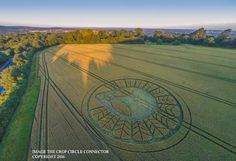 A Stunning New Crop Circle Has Shown Up & It's Very Mysterious