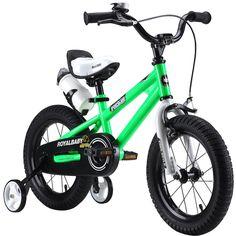 RoyalBaby BMX Freestyle Kids Bikes, 12 inch, 14 inch, 16 inch, in 6 colors, Boy's Bikes and Girl's Bikes with training wheels, Gifts for children https://www.amazon.com/RoyalBaby-Freestyle-training-wheels-children/dp/B00KNL5AFG/ref=as_li_ss_tl?s=sporting-goods&ie=UTF8&qid=1473075146&sr=1-31&keywords=bike&linkCode=ll1&tag=yacine99-20&linkId=c2222c015f259375c9d30b2dd2397abb