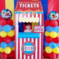 Mickey Mouse Birthday Party Ideas | Photo 1 of 33 | Catch My Party