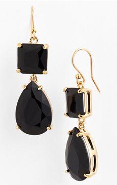 Pretty Kate Spade drop earrings http://rstyle.me/n/tnd8nbh9c7