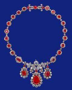 Ruby and Diamond Necklace, Queen Elizabeth II