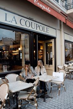 La Coupole in Paris.