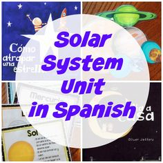 Solar System Unit in Spanish {Resources, Ideas, and Free Printable}