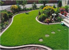 landscape with concrete curbing | Calgary Concrete Specialists - Curbmaster - Welcome