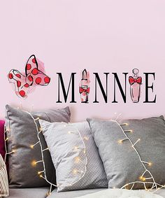 Minnie Mouse Perfume Peel & Stick Wall Decals