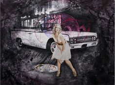 Marilyn - Acrylic on canvas - 105x135cm