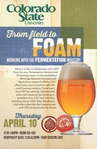 From Field to Foam: Working with the Fermentation Industry panel by the CSU Fermentation Science & Technology Program
