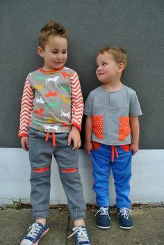 Roscoe Pants boys pdf sewing pattern, boys pants pattern sizes 2 to 12 years. Children's pdf sewing pattern