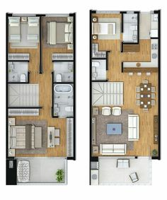 Small House Floor Plans, Home Design Floor Plans, My House Plans, Home Building Design, Home Room Design, Dream Home Design, Building A House, House Layout Plans, House Layouts