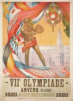 The 1920 Summer Olympics were an international event in Antwerp, Belgium. The 1920 Games were awarded to Antwerp to honor the people of that city after the suffering they endured during World War I. Though the majority of events took place in Belgium, a single sailing event took place in Dutch waters, so the games were officially in both countries.