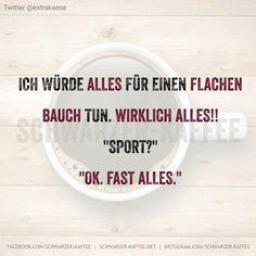 Flacher Bauch :)