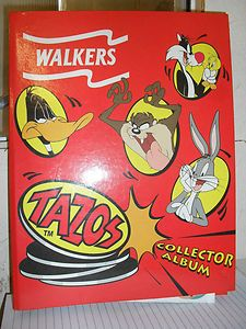 Tazos album - who else remembers these?