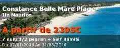#Séjour #golf #Ile #Maurice : le sport et les plages, j'adore