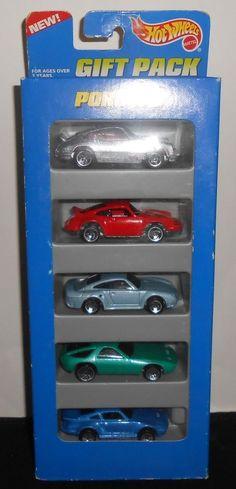 1995 Mattel Hot Wheels Gift Pack 5 Porsche Sports Car #HotWheels #Porsche