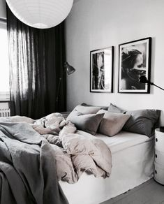 Minimalist Home Bedroom Grey feminine minimalist decor home office.Minimalist Kitchen Tiny Small Spaces minimalist home closet apartment therapy.Minimalist Home Bedroom Grey. Minimalist Bedroom, Minimalist Home, Minimalist Interior, Bedroom Inspo, Home Decor Bedroom, Bedroom Curtains, Bedroom Chair, My New Room, Dream Bedroom