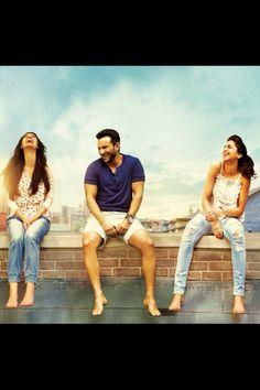 'Cocktail' still  #Deepika Padukone, Diana Penty, and Saif Ali Khan