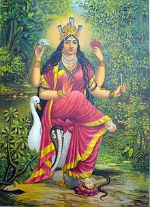 Manasa (Bengali: মনসা, Manasha) also Mansa Devi is a Hindu folk goddess of snakes, worshipped mainly in Bengal and other parts of North and n...