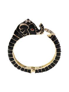Elephant Cuff Bracelet by Amrita Singh at Gilt