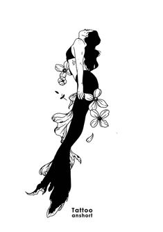 Dark Art Drawings, Tattoo Drawings, Aesthetic Drawing, Aesthetic Art, White Art, Black Art, Tattoo Paris, Negative Space Tattoo, Kunst Tattoos
