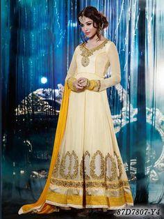 Fancy Salwar Kameez / Beautiful Designer Pretty Salwar Suit For Pretty Women