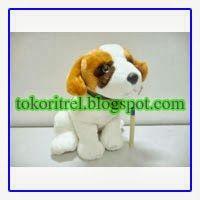Boneka Anjing Husky Cantik Dan Lucu, Binatang Dog FF00349 - http://tokoritrel.blogspot.com/2013/09/boneka-anjing-husky-cantik-dan-lucu.html#.Uj1CzNKBlII