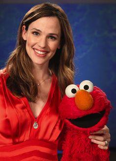Jennifer Garner & Elmo                                                                                                                                                      More