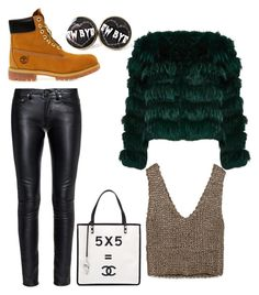 """""""sophratch"""" by belanda-dee on Polyvore featuring Timberland, Yves Saint Laurent, Zara and Chanel"""