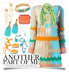 """""""Another Part Of Me..**"""" by yagna ❤ liked on Polyvore featuring Missoni, Swedish Hasbeens, Aquazzura, Deepa Gurnani, Rosantica, Bronzallure, Fayt Jewelry, Alexander McQueen, San Diego Hat Co. and Kendra Scott"""