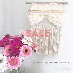 SALE! - Handwoven wall hanging by JustamenteJulieta on Etsy
