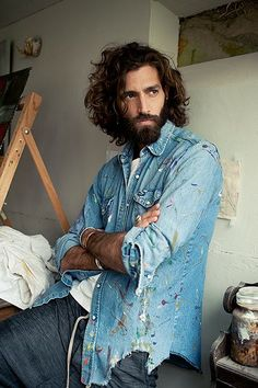 Men's fashion: Artist inspired style - in pictures