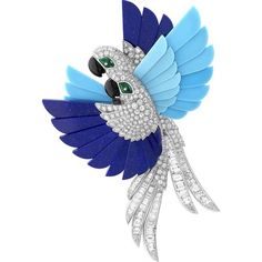 I gioielli dell'Arca di Noé di Van Cleef Arples ❤ liked on Polyvore featuring brooch and backgrounds