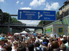 """event """"Still-Leben"""" at motorway A 40 (in 2010)"""