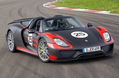 Porsche 918 Spyder : détails des technologies embarquées   AUTOMOTIV PRESS